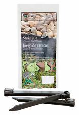 Master Mark  Terrace Board  10 in. H Plastic  Black  Stake Kit