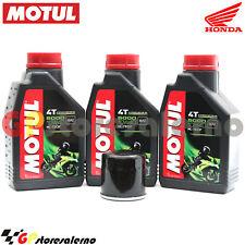 KIT TAGLIANDO OLIO + FILTRO MOTUL 5000 10W40 3LT HONDA 700 XL V TRANSALP 2011