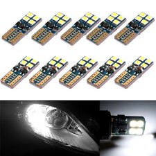 10x T10 2835 W5W 194 168 8SMD Car LED Canbus Error Free Wedge Light Lamp Bulbs