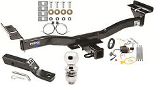 2007-2012 MAZDA CX-7 COMPLETE TRAILER HITCH PACKAGE W/ WIRING KIT CLASS III NEW