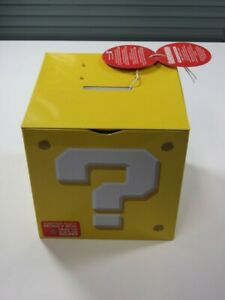 TIRELIRE SUPER MARIO QUESTION BLOCK (MONEYBOX) NEUF - BRAND NEW