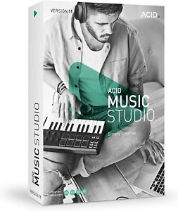MAGIX - ACID Music Studio 11, Multilingue Compatible WIN 7, 8, 10 - 64 bits