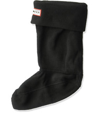 Hunter Kids Unisex Boot Sock (Toddler/Little Kid/Big Kid) Black Sock -XLarg size