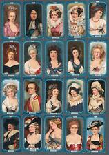 1912 R. J. Lea Miniatures (51-100) Tobacco Cards Complete Set of 50
