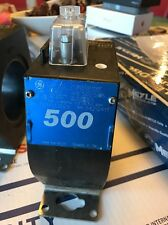 GE 750X133629 Current Transformer 50/60Hz Ratio 500:5AMPS, Type JAK-OW - New!!!