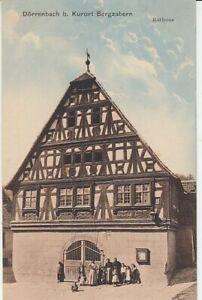 Ansichtskarte Rheinland Pfalz Dörrenbach bei Bergzabern Rathaus