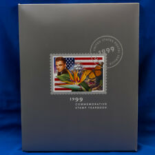 1999 USA COMMEMORATIVE YEARBOOK HARDCOVER ALBUM WITH SEALED MNH STAMPS