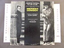 "MIDNIGHT COWBOY ORIGINAL SOUNDTRACK LP JOHN BARRY ""EVERYBODY'S TALKIN"" NILSSON"