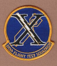 """USAF Air Force Patch: 370th Flight Test Squadron - 3 1/2"""""""
