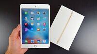 Apple iPad mini 4 16GB, Wi-Fi + Cellular (Unlocked), 7.9in - Gold (CA)