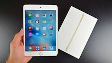 Unlocked Apple iPad Mini 4 Gold 16GB Wifi+Cellular with 3 Months Warranty