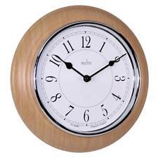 Wall Clock, Acctim 24581 Newton Wall Clock Wood