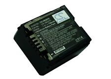 7.4V battery for Panasonic NV-GS330, SDR-H50, VDR-D230 Li-ion NEW