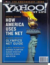Yahoo! Internet Life - 2000, September - How USA Uses the Net, Olympics Guide