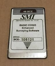 SMI 48 BCE Surveying Card for HP 48GX Calculator