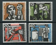 GERMANY 1957 WELFARE MNH Set 4 Stamps cat Euro 25