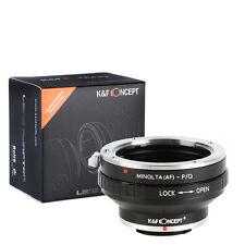 K&F Concept adapter for Minolta AF mount lens to Pentax Q camera Q7 Q10