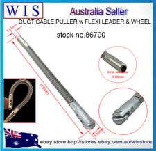 NBN,TELSTRA,ISGM Duct Cable Puller FLEXI Leader w Wheel For Fibreglass Rodder