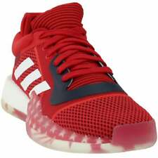 adidas SM Marquee Low - USAB  Casual Basketball  Shoes - Red - Mens