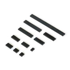 2.54mm Row Straight Female Pin Headers Socket Strip Connector 1X2P-1X40P,Arduino