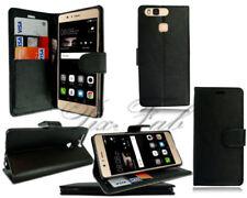 Fundas y carcasas Huawei color principal negro de piel para teléfonos móviles y PDAs