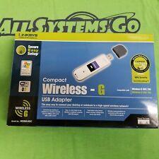 Cisco- Lynksis WUSB54GC Wireless - G USB Adapter