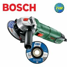 Bosch 115mm 4 1/2 in Angle Grinder 240V with Free Metal Cutting & Grinding Discs
