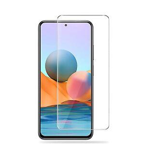 For Xiaomi Redmi Note 10 Pro Tempered Glass Screen Protector Case Friendly
