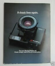 Camera Brochure Photography Reference Guide For The Makina 67