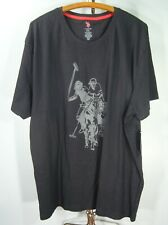 Mens U.S Polo Assn. Men's XXL T Shirt Horse Ralph Lauren 100% Cotton Vintage NOS