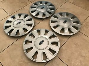 CROWN VICTORIA POLICE INTERCEPTOR 17 INCH HUBCAPS NICE CLEAN CONDITION 2006-2011