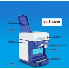 More details for commercial ice shaver snow cone machine maker
