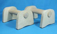Liegestütz Griffe Hanteln Minibarren aus Holz Liegestützen Parallettes 21 cm
