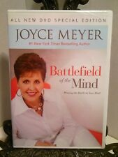 NEW Battlefield of the Mind Joyce Meyer DVD Thinking How to Think Out of Bondage