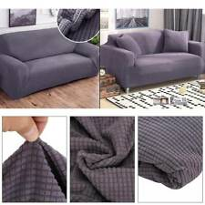 3 Seaters Sofa Settee Covers Couch Slipcovers Stretch Elastic Fabric Washable