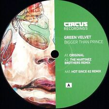 GREEN VELVET - BIGGER THAN PRINCE – CIRCUS028T  NEW VINYL