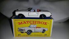 Matchbox/Lesney 1-75 Modellauto RW No.27d Mercedes Benz 230 SL 1966-69 in OVP E4