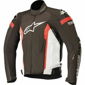 Alpinestars T-Missile Drystar TechAir Textile Jacket-Blk/Wht/Flo Red, All Sizes