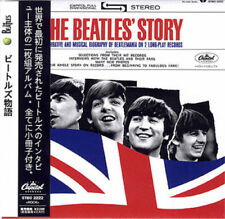BEATLES THE BEATLES' STORY CD MINI LP with OBI