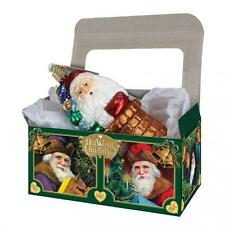 """5 14035 Old World Christmas Cardboard Gift Boxes 6""""X 3 1/2""""X 2 3/4"""" (Boxes Only)"""