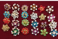 New Brooch,Hijab, Scarf, Abaya, Hat Pins Set Of 12 Pc Mixed Different Design For
