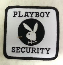 "Playboy Security Logo 3"" Embroidered Patch- Mailed from USA (CWPA-PB)"