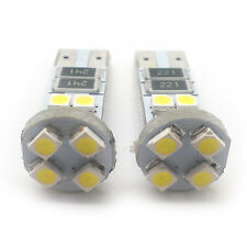2x White 8 LED Side Light W5W T10 501 Fits Nissan Cube (2010-) AMHL1016W