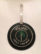 Vintage Rare Pajadi Golf Course Golf Bag Tag - Kansas City, Kansas - A Beauty!