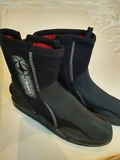 SCUBA Wetsuit Boots by Beuchat 6mm zippered size XL Scubapro Mares Bare Cressi