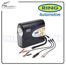 Anillo Motocicleta Biker Automático Digital Compresor de aire neumático de viaje en coche rac605