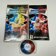 New listing Wwe Smackdown Vs Raw 2007 Sony PSP 2006 Complete With Manual