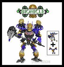 Ultimate ONUA & TERAK Creature of Earth - fits lego BIONICLE HERO FACTORY