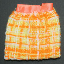 *Vintage Barbie 1969 Made For Each Other #1881 Woven Skirt-Has 2 Flaws