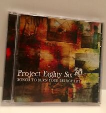 Project 86 - Songs To Burn Your Bridges By (CD, 2003) RARE OUT-OF-PRINT